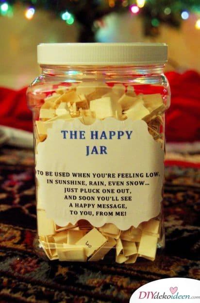 Glück im Glas - Geschenk für gute Freundin