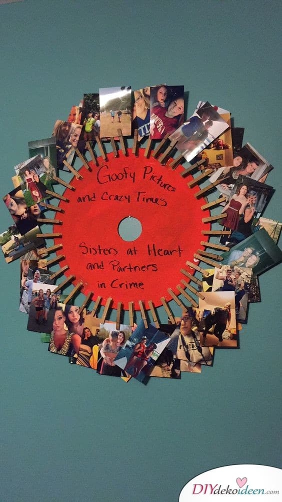 Kreatives Geschenk für beste Freundin – ein etwas anderes Fotoalbum