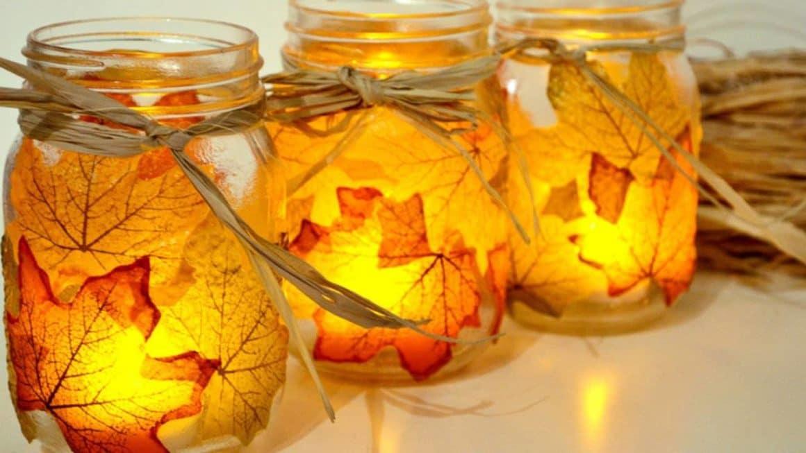 Herbstdeko basteln - Tolle DIY Bastelideen zum Herbstanfang
