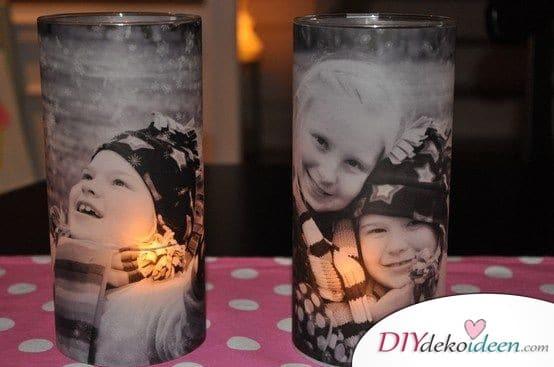 Süße bedruckte Kerzengläser - Geschenkideen für den Bruder