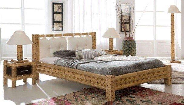 Bambusbett BENGALE - ein Bett der Natur für Zuhause - Exotischerleben