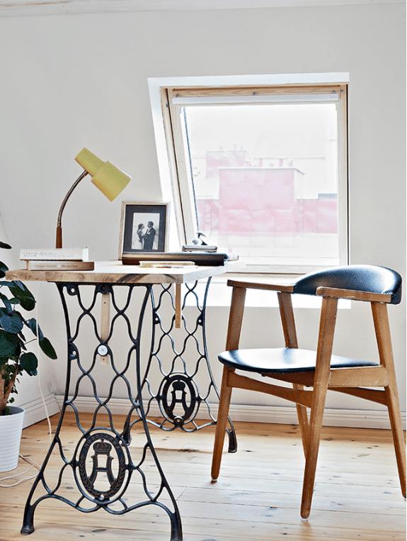 15 Ideen für den DIY Schreibtisch - Aus Alt mach Neu