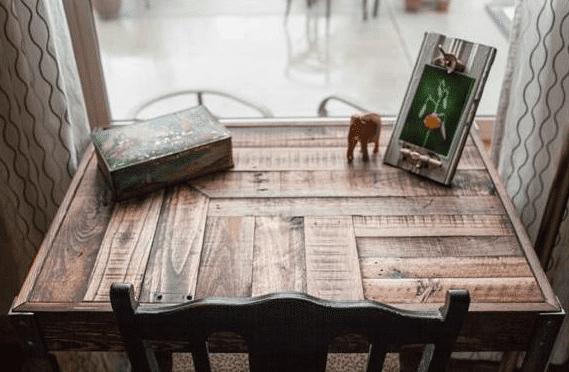 15 Ideen für den DIY Schreibtisch - Altes Parkett
