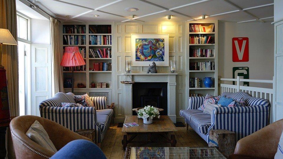 Casa, Interior, Habitación, Muebles, Diseño, Decoración