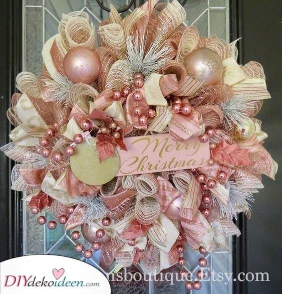 Hübsch in Pink - Roségold zu Weihnachten