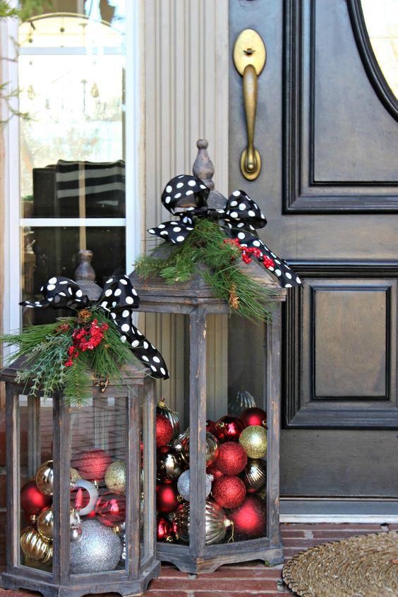 Winterliche Laternen - Außergewöhnliche Weihnachtsdekos zum selbermachen