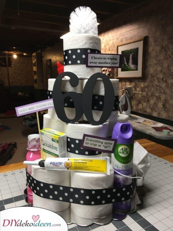 Eine lustige Alternative - Geburtstagskuchen