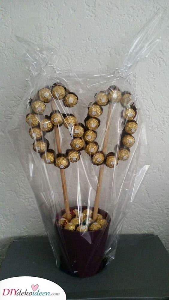 Schokoladenleckereien - Geschenkideen zum 60. Geburtstag