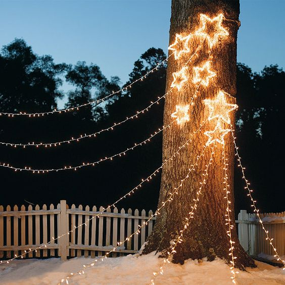 Sternschnuppen - Festliche Beleuchtung für Ihren Garten