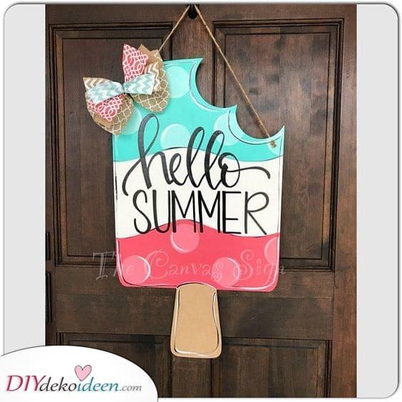 Begrüße den Sommer - Schöne Kränze für den Sommer