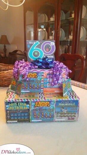 Ein glückliches Geschenk - 60. Geburtstagsgeschenkideen