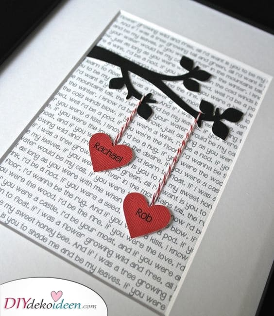 Ein Baum der Liebe - Besondere Geschenkideen für Männer