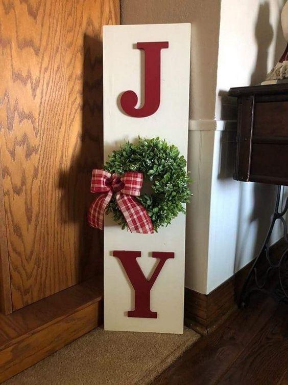 Ein freudiges Zeichen - Außergewöhnliche Weihnachtsdekos zum selbermachen