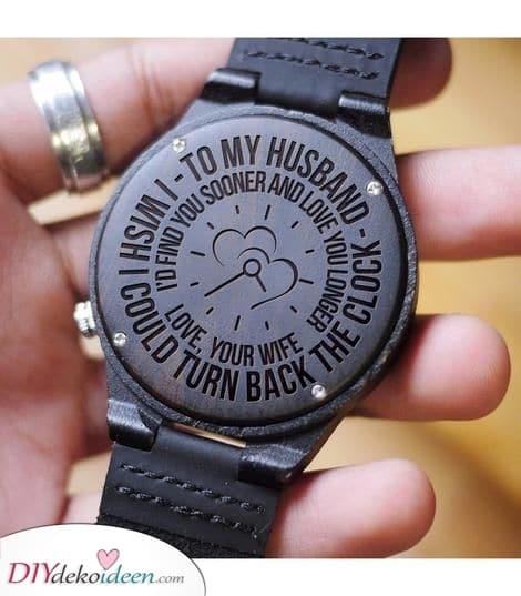 Dreh die Uhr zurück - Besondere Geschenkideen für Männer