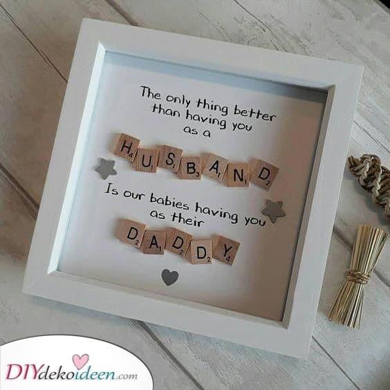 Ehemann und Vater - Geburtstagsgeschenk für Ehemann