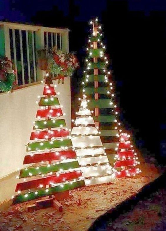 Palettenholz - Außergewöhnliche Weihnachtsdeko selber machen
