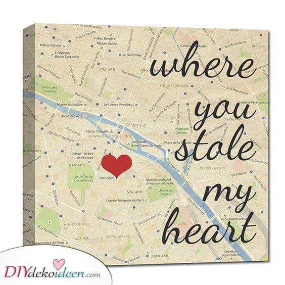Ein besonderer Ort - wo er dein Herz gestohlen hat