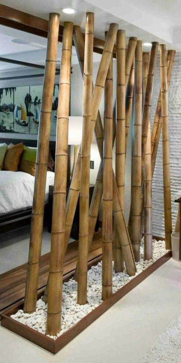 Bambus - Exotische Atmosphäre mit einem Raumteiler