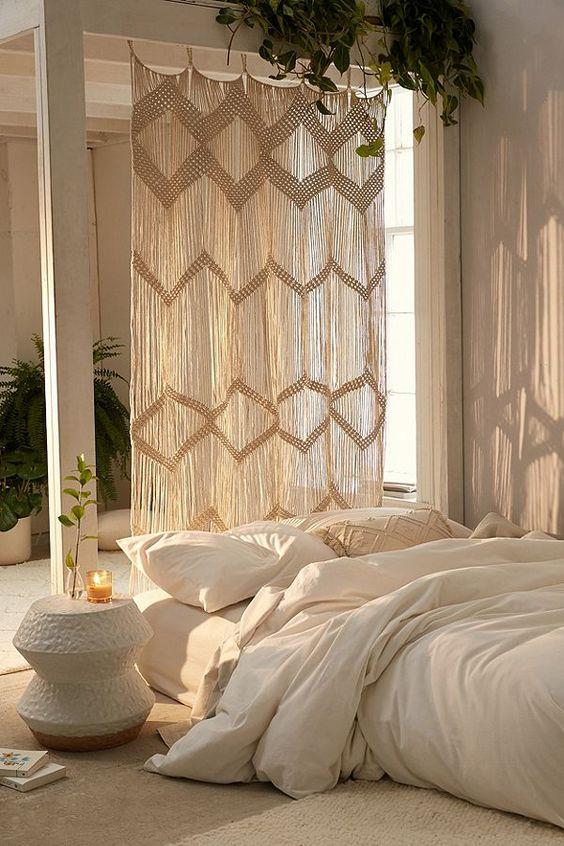 Vorhang - günstige Raumteiler-Ideen