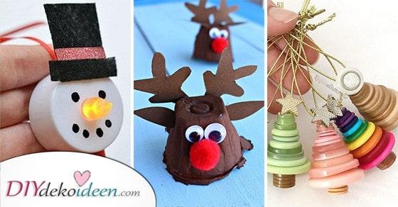 25 Weihnachtsgeschenke Basteln Mit Kindern - Bastelideen Für Weihnachten Zum Verschenken