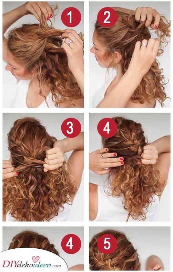 Zöpfe für dich - Locken Frisuren