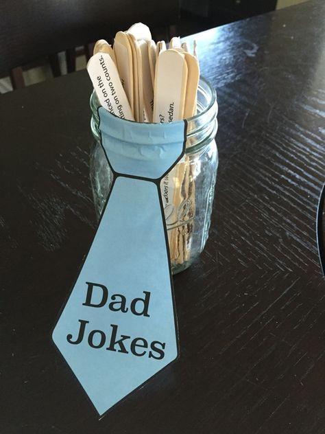 Ein Glas mit Papa-Witzen - Weihnachtsgeschenke für den Papa
