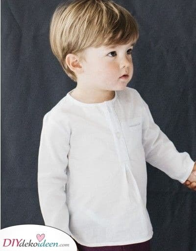 Einfach und raffiniert - Haarschnitte für kleine Jungen