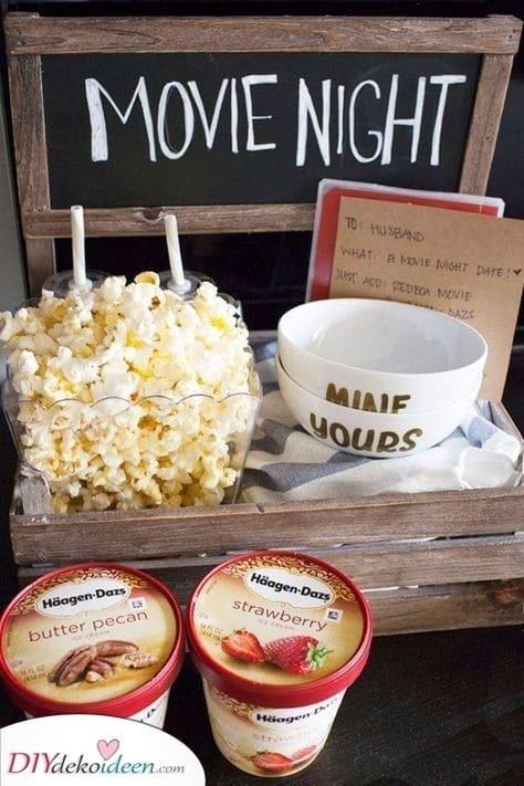 Snacks für die Filmnacht - Für jeden Anlass