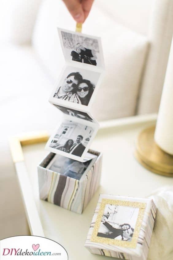 Eine Schachtel mit Fotos - Eine Alternative zu einem Album