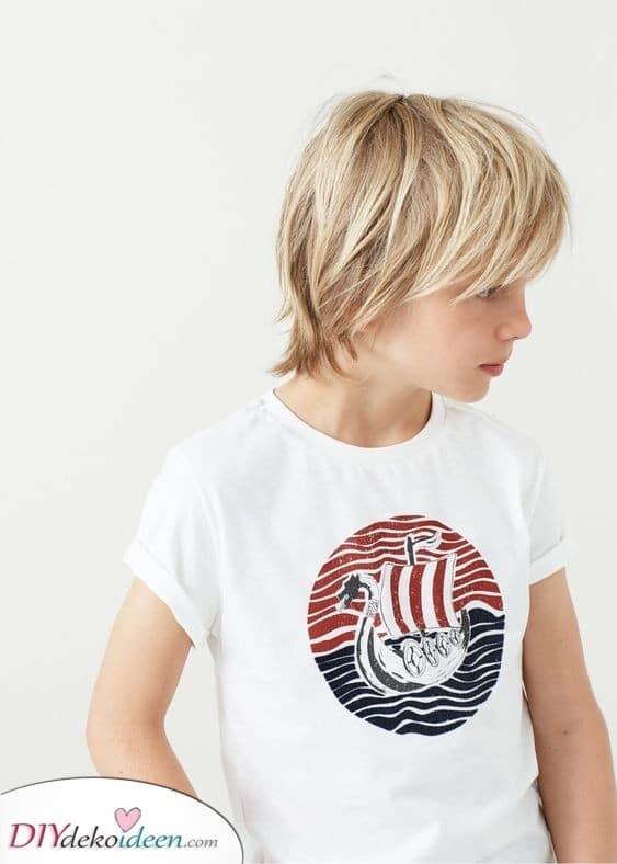 Ganz kreativ und doch einfach - Einfache Haarschnitte für kleine Jungen