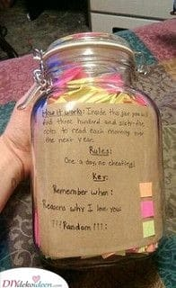Ein Glas Notizen - Geschenkideen für kleine Schwestern