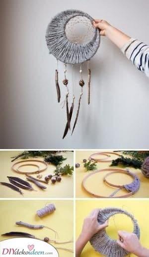 DIY Dream Catcher - Große Geschenke