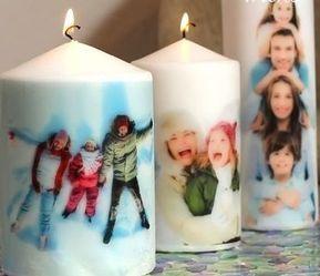 Personalisierte Kerzen - Geschenke für väter zu Weihnachten