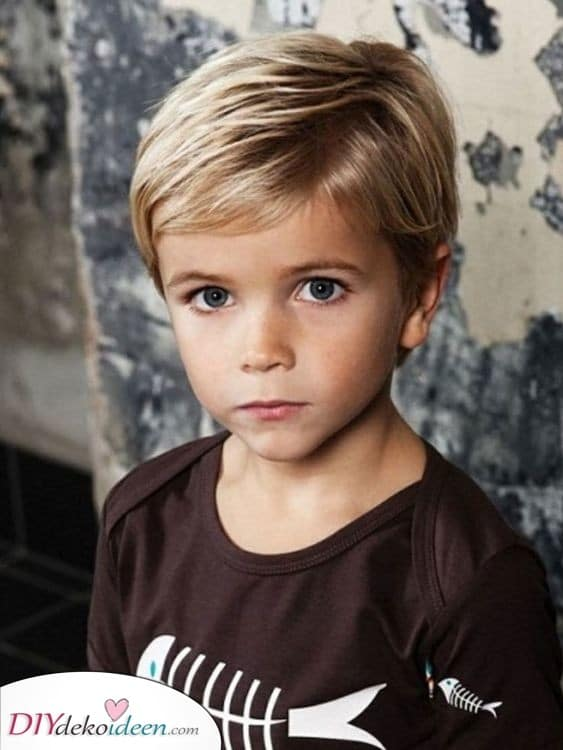 Ein einfacher Look - Kurzhaarfrisuren für Jungs