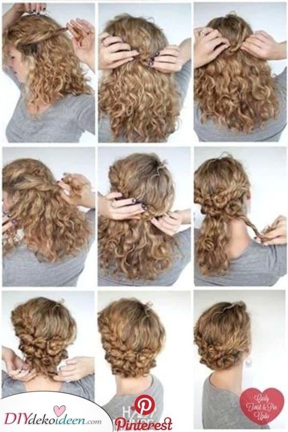 Drehen und Wenden - Frisuren für Mädchen mit lockigem Haar