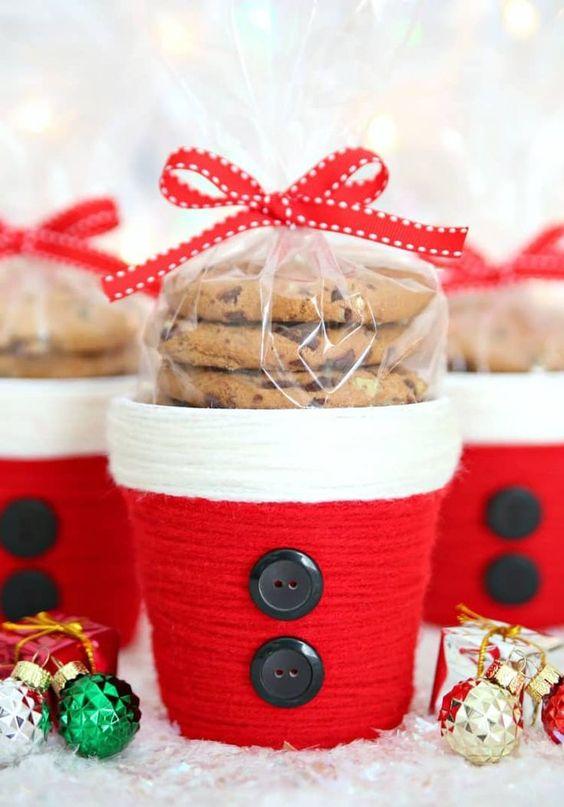 Kekse in einer Tasse - Weihnachtsgeschenke für dienen Freund