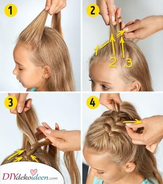 Füge Geflecht hinzu - Natürliche Frisuren
