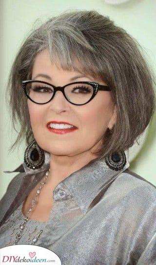 Ein hübscher Bob - Beste Frisuren für Frauen über 50