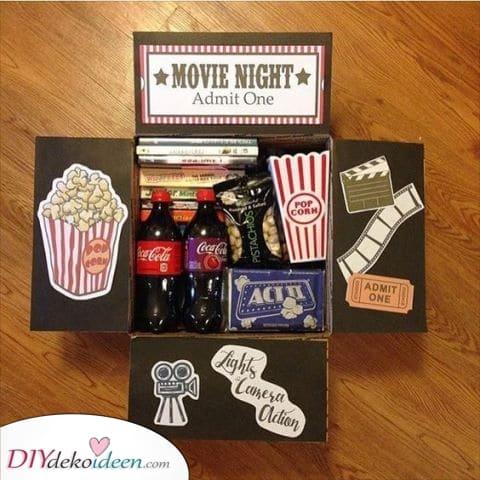 Movie Night - Geschenk für große Schwester