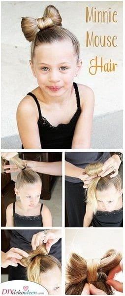Minnie Mouse Haare - Für kleine Mädchen