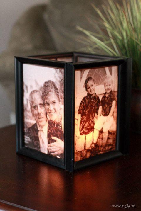 Ein Kerzenhalter - Weihnachtsgeschenke für Omas