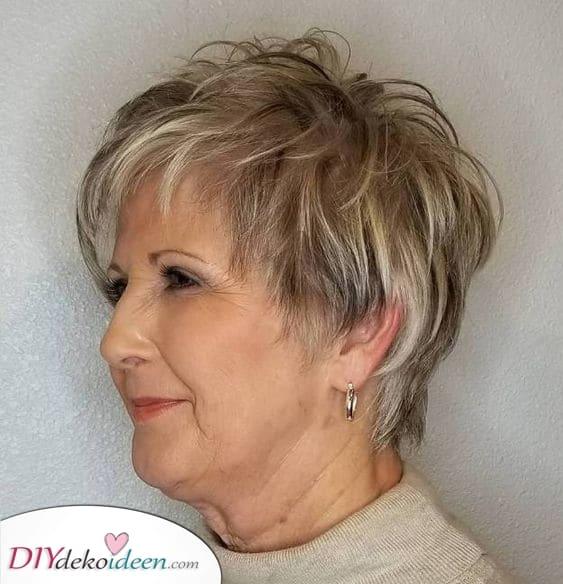 Mutig und schön - Kurzhaarfrisuren für feines Haar ab 50