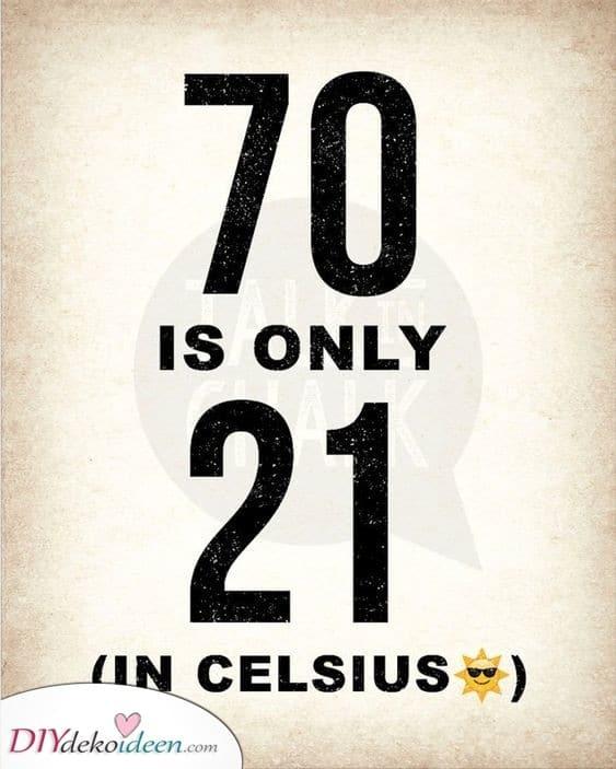 Celsius oder Fahrenheit - Etwas zum grübeln