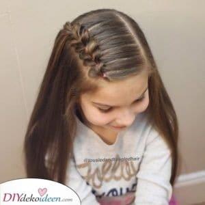 Ein schönes Geflecht - Frisuren für kleine Mädchen