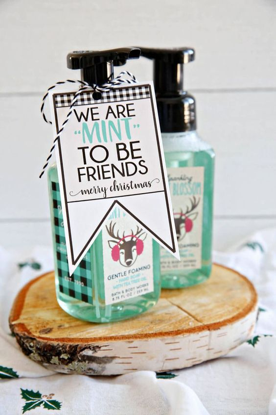 Eine minzige Freundschaft - Weihnachtsgeschenkideen für Freunde