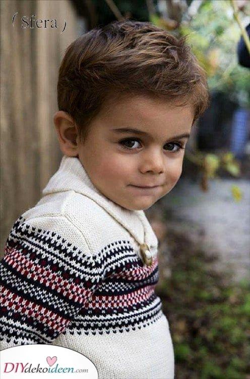Kurz und süß - Tolle Frisuren für kleine Jungen