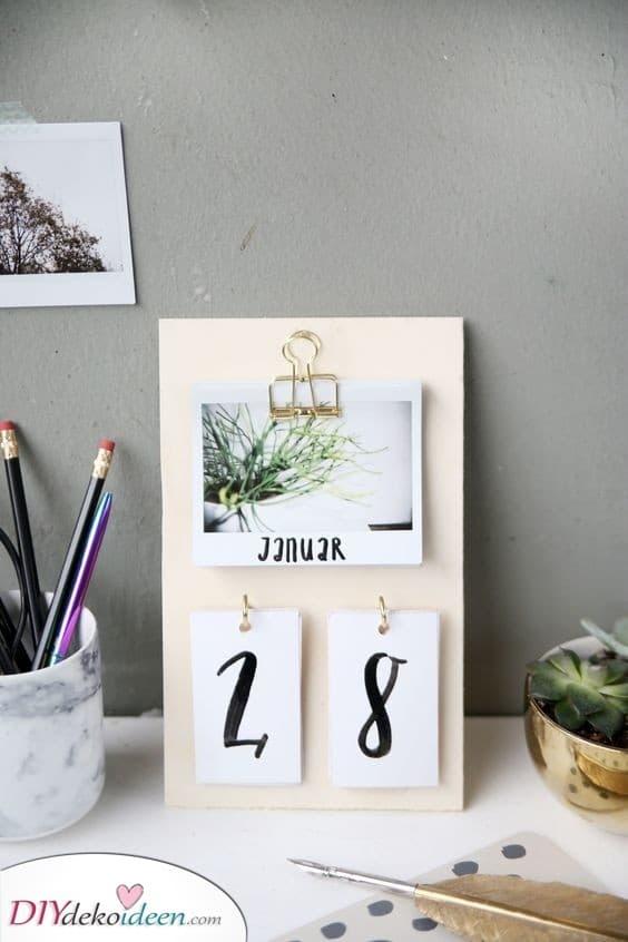 Handgemachter Kalender - Fantastische Geschenkideen für Frauen