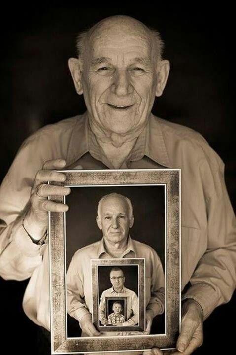Fotos der Generationen - Eine Freude machen