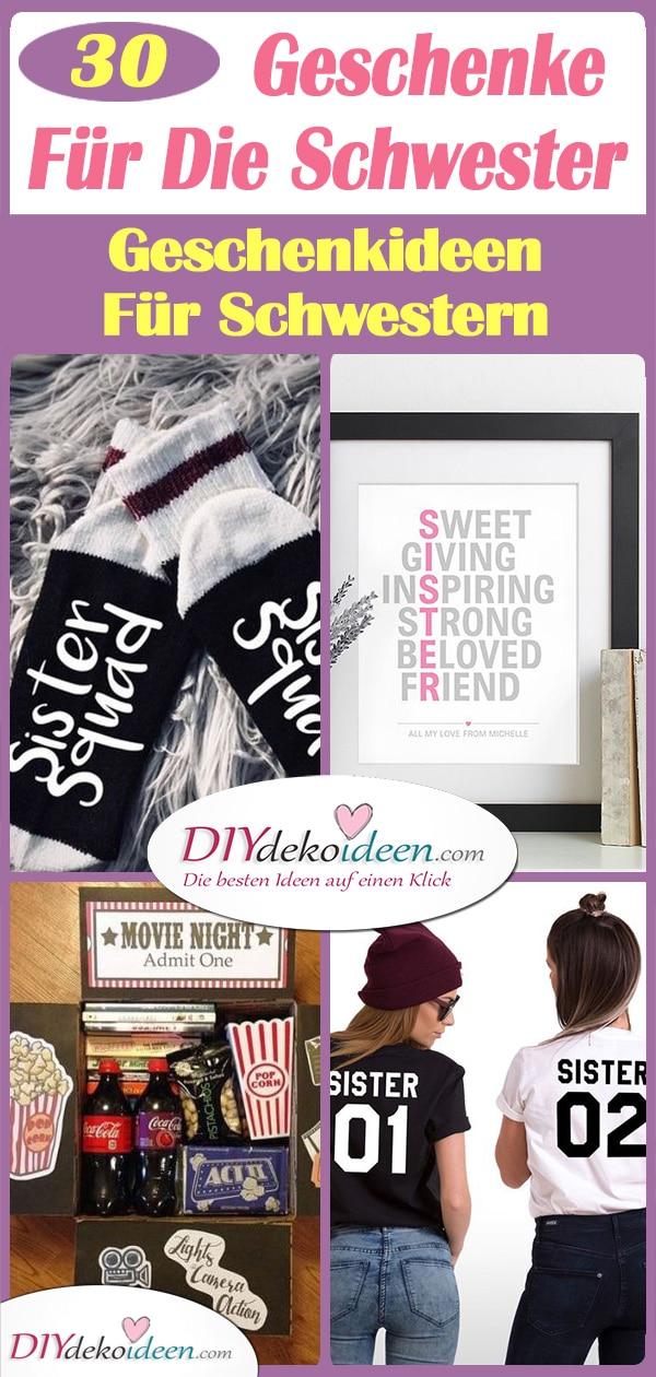 30 Tolle Geschenke Für Die Schwester - Geschenkideen Für Schwestern