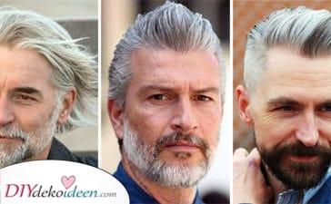20 Frisuren Für Ältere Männer Mit Grauen Haaren - Frisuren Für Männer Ab 60